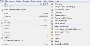 Create Maven Application - Step 1