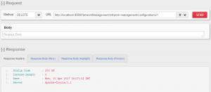 HTTP DELETE - Individual Configuration Resource